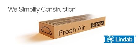 Sisteme de ventilatie inteligente de la Lindab